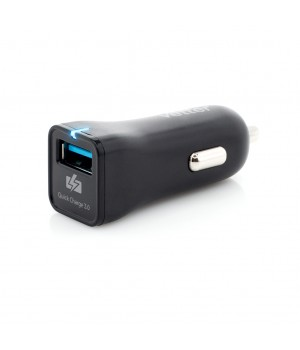 Fast Car Charger, with Quick Charge 3.0 TECHNOLOGY, Black