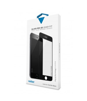 iPhone 6s Plus | 3D Tempered Glass Easy Fit | Gorilla Glass | Black