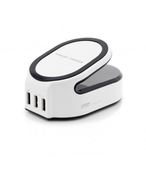 All in One Charging Station, Wireless Charger with Smart and Quick Charge 3.0