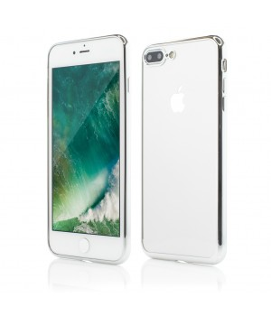iPhone 7 Plus | Smart Case Shiny Soft Series | Silver