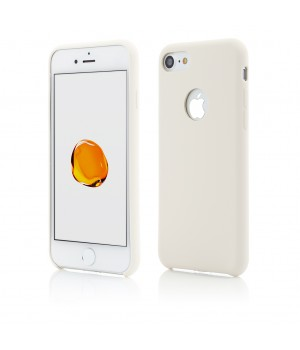 iPhone 8, 7 | Clip-On Soft Touch Silk Series | Beige