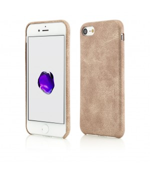 iPhone 8, 7, Clip-On Leather Feel, Gold