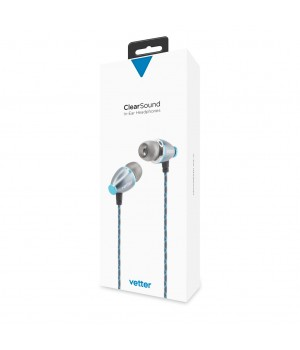 ClearSound In-Ear Headphones | Handsfree | Grey
