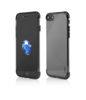 iPhone 8, 7, Clip-On Shiny Soft Series, Black
