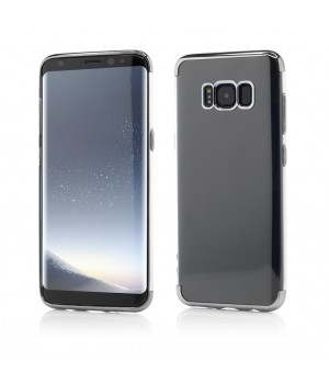 Samsung Galaxy S8 | Smart Case Shiny Soft Series | Grey