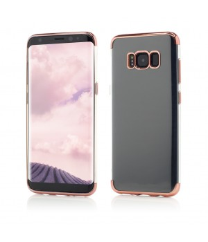 Samsung Galaxy S8 | Smart Case Shiny Soft Series | Rose Gold