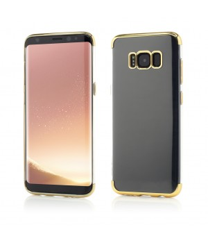Samsung Galaxy S8 Plus G955| Smart Case Shiny Soft Series | Gold