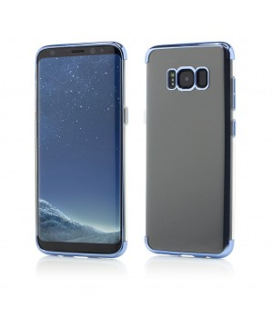 Samsung Galaxy S8 Plus | Smart Case Shiny Soft Series | Blue