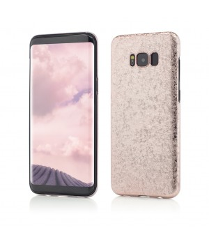 Samsung Galaxy S8 G950 | Smart Case Ultra Tough Glitter | Rose Gold
