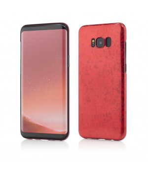 Samsung Galaxy S8 Plus G955| Smart Case Ultra Tough Glitter | Red
