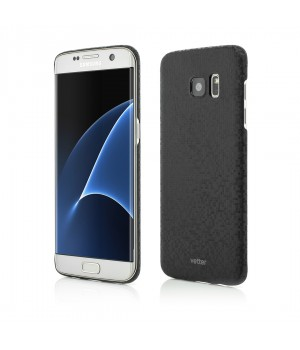 Samsung Galaxy S7 Edge, Smart Case Pixel FX, Ultra Slim, Black