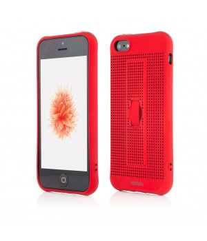 iPhone SE, 5s, 5 | Vetter GO | Vent Soft with Strap | Red