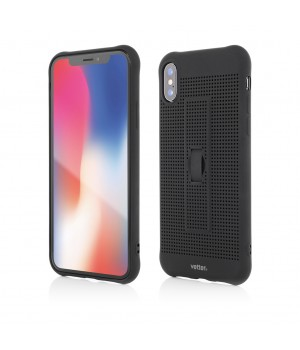 iPhone XS, X | Vetter GO | Vent Soft with Strap | Black