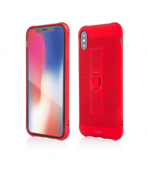iPhone XS, X | Vetter GO | Vent Soft with Strap | Red