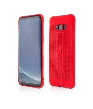 Samsung Galaxy S8 Plus G955| Vetter GO | Vent Soft with Strap | Red