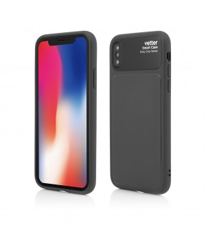 iPhone XS, X, Smart Case Easy Grip, Black