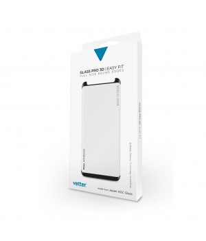 Samsung Galaxy Note 8 | 3D Tempered Glass Easy Fit Full Adhesive | Black