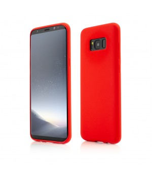 Samsung Galaxy S8 Plus | Clip-On Soft Touch Silk Series | Red