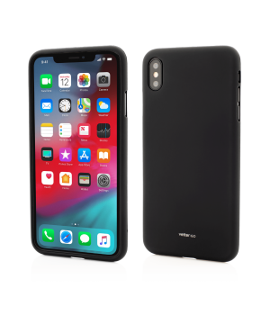 iPhone Xs Max, Vetter GO, Soft Touch, Black