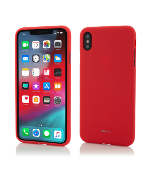 iPhone Xs Max, Vetter GO, Soft Touch, Red