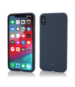 iPhone Xs Max, Vetter GO, Soft Touch, Dark Blue