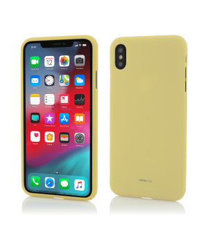 iPhone XS, X, Vetter GO, Soft Touch, Yellow