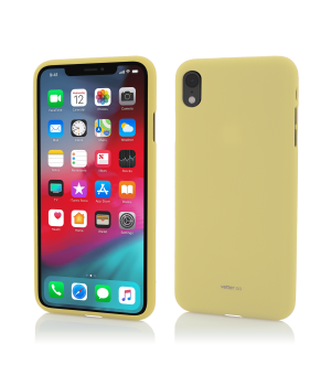 iPhone XR, Vetter GO, Soft Touch, Yellow