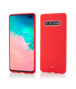 Samsung Galaxy S10+, Vetter GO, Soft Touch, Red