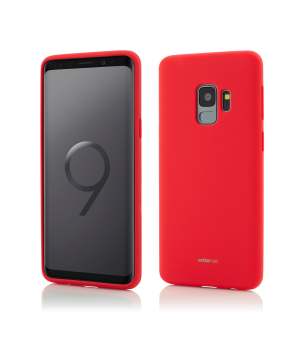 Samsung Galaxy S9, Vetter GO, Soft Touch, Red