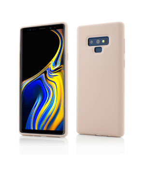 Samsung Galaxy Note 9, Clip-On Soft Touch Silk Series, Pink
