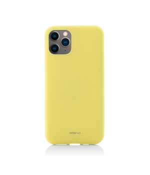 iPhone 11 Pro Max, Vetter GO, Soft Touch, Yellow