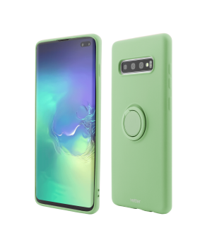 Samsung Galaxy S10 Plus, Soft Pro with Magnetic iStand, Green