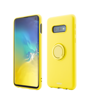 Samsung Galaxy S10e, Soft Pro with Magnetic iStand, Yellow