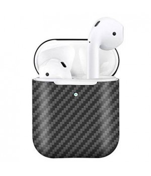 Case for AirPods 2, made from Carbon, Matt Black