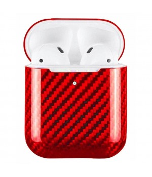 Case for AirPods 2, made from Carbon, Red