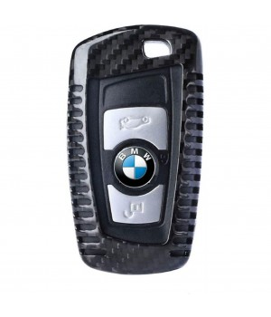 Case for BMW Key F-Series, made from Carbon, Glossy Black